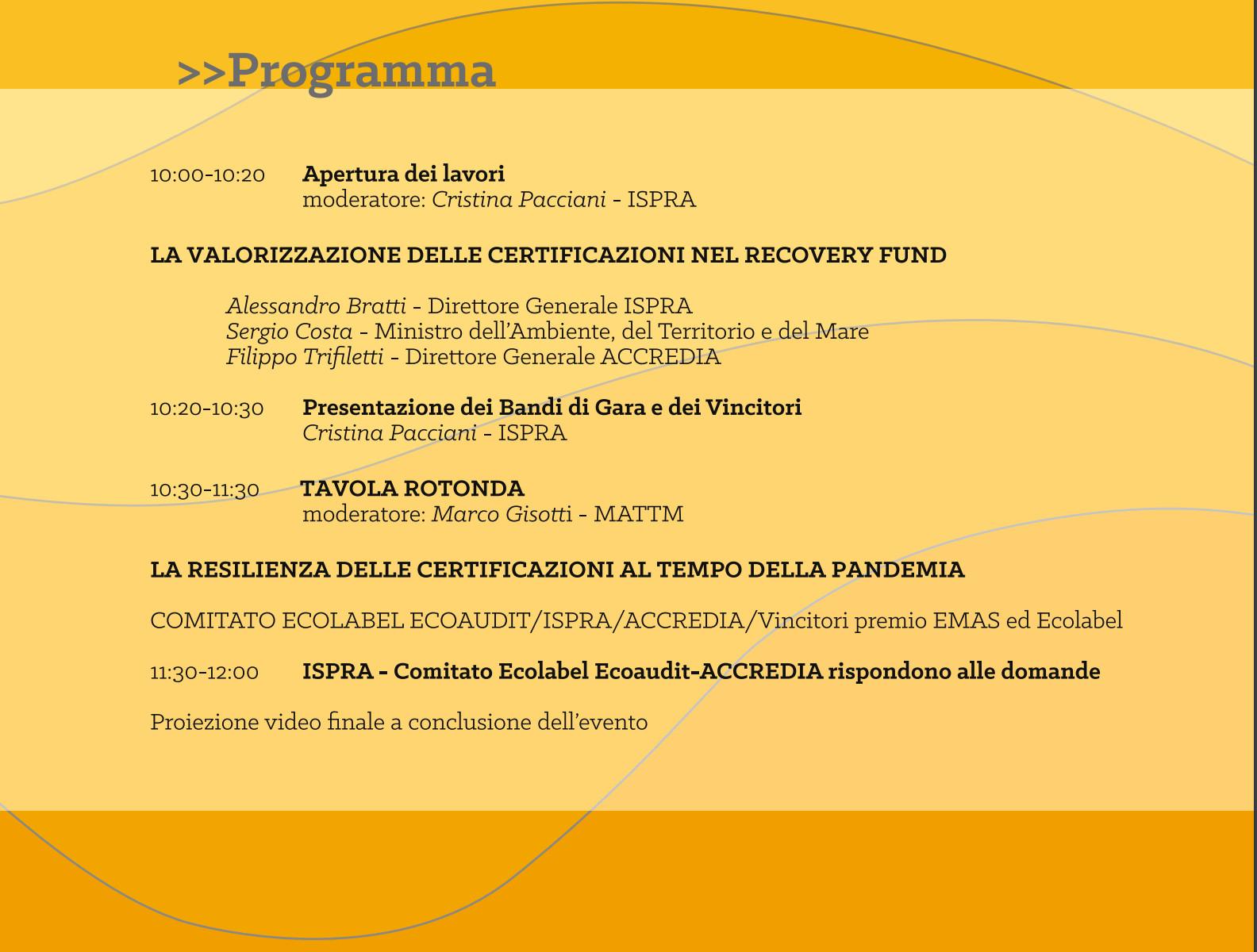 Ecolabel Programma