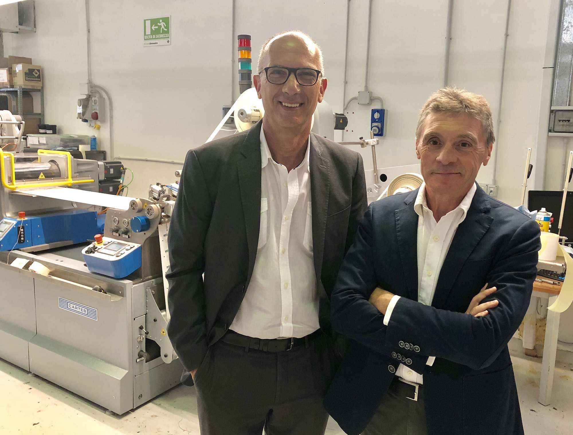 I due soci fondatori Gaetano Armenio e Stefano Salvemini