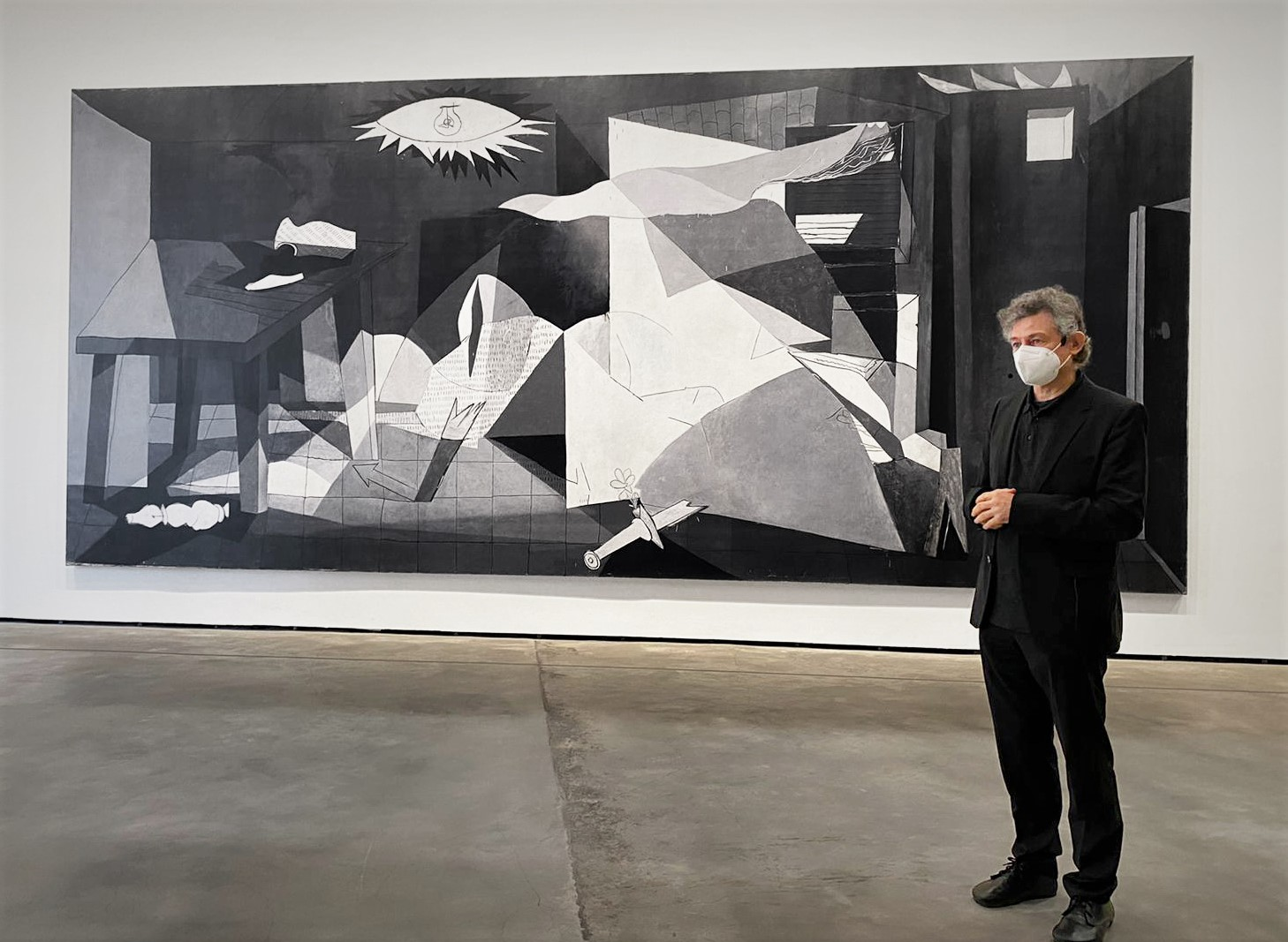 Una Guernica rivisitata. Grazie anche alla stampa digitale di qualità