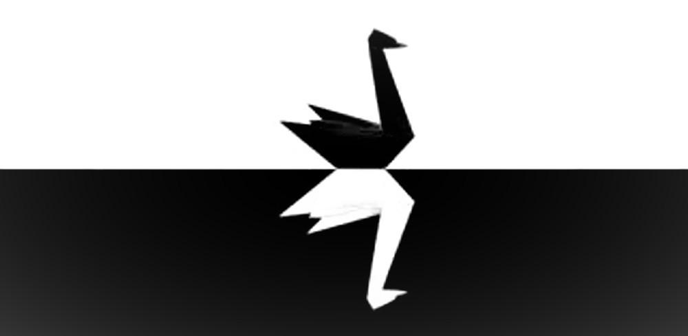 Il cigno nero nella stampa grafico-editoriale
