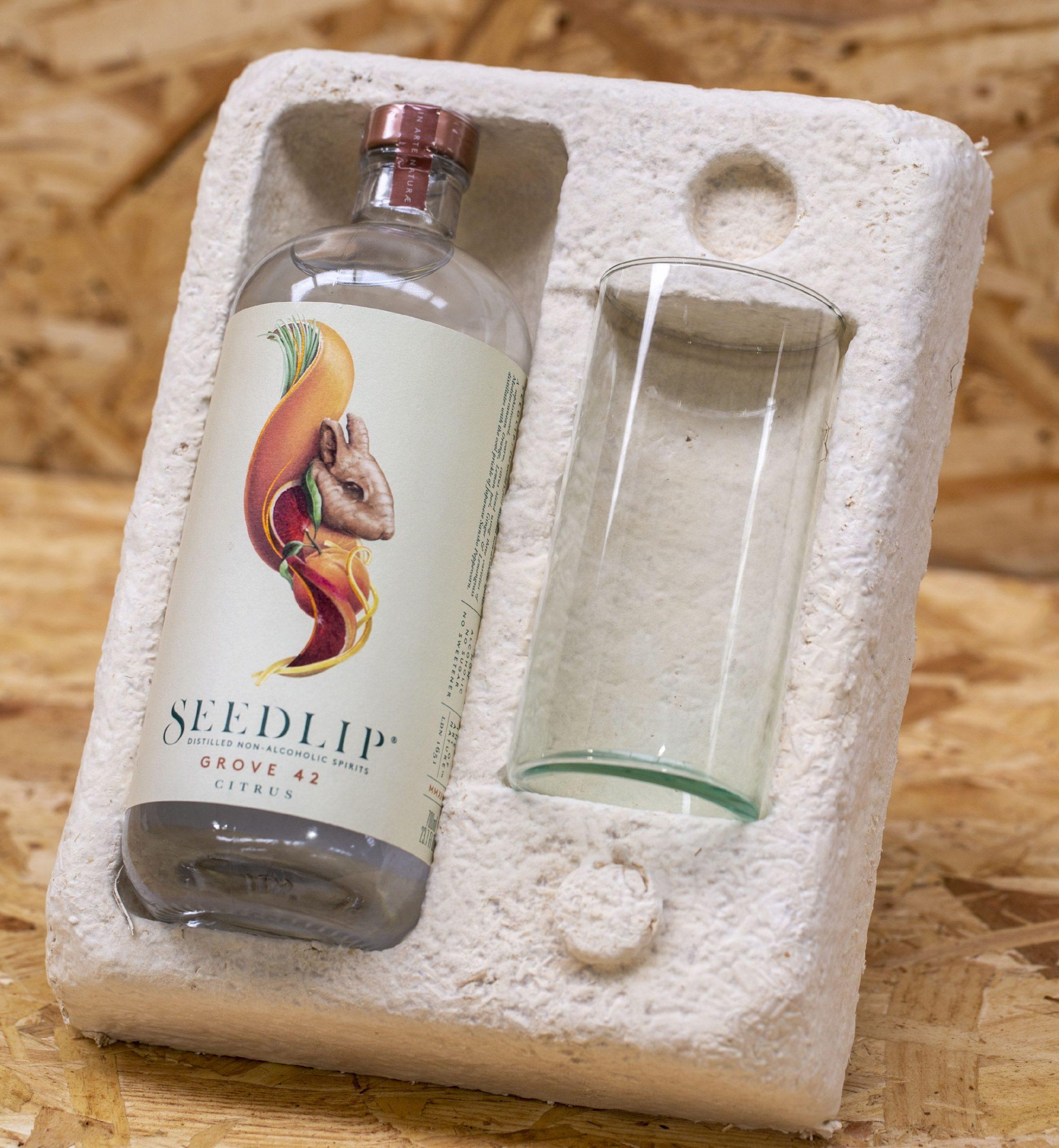 MMC Seedlip product packaging