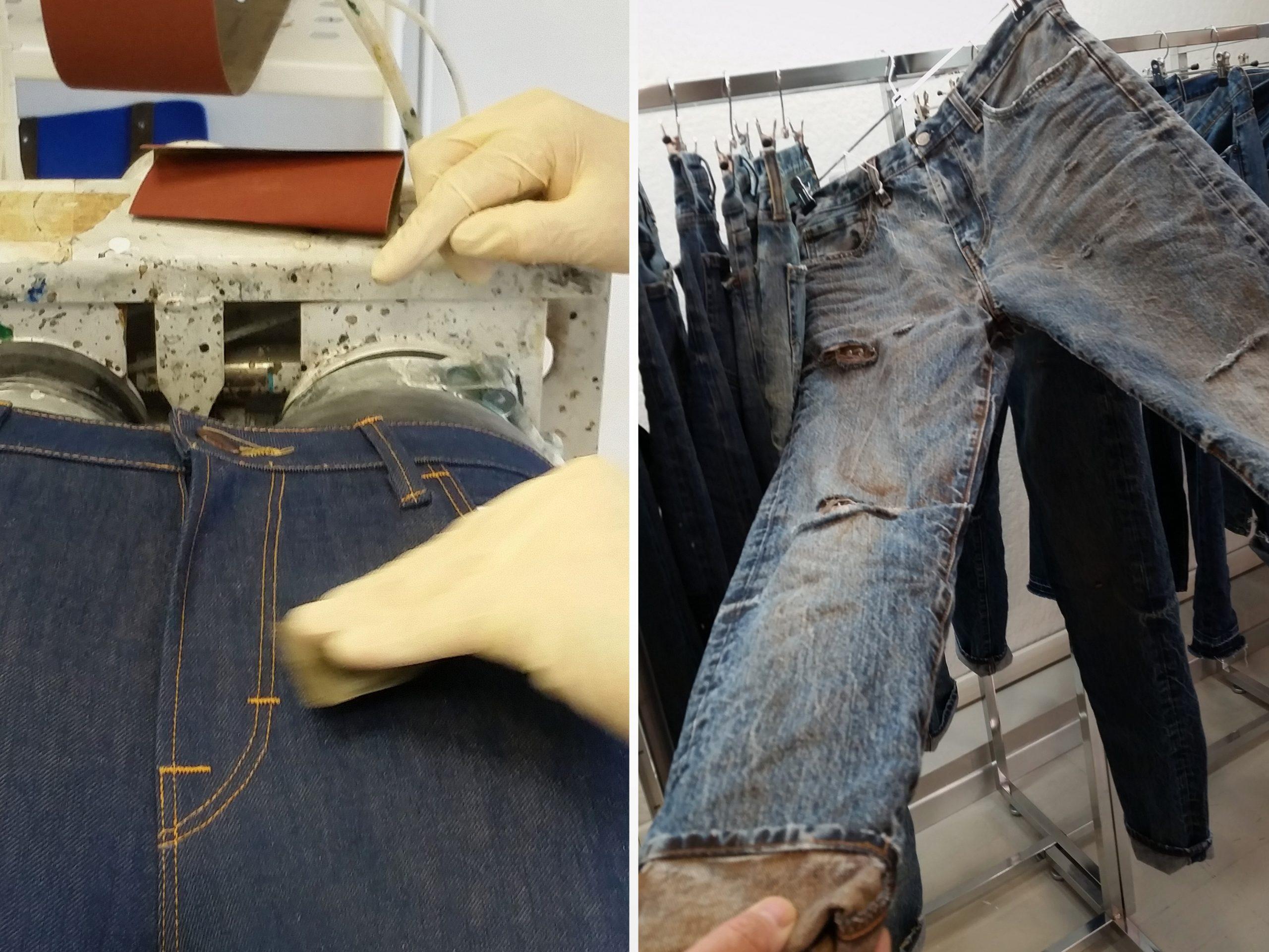 Genova e la storia dei Blue Jeans