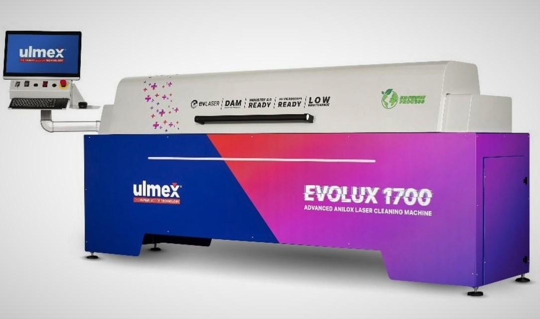 Novità nella pulizia laser degli anilox