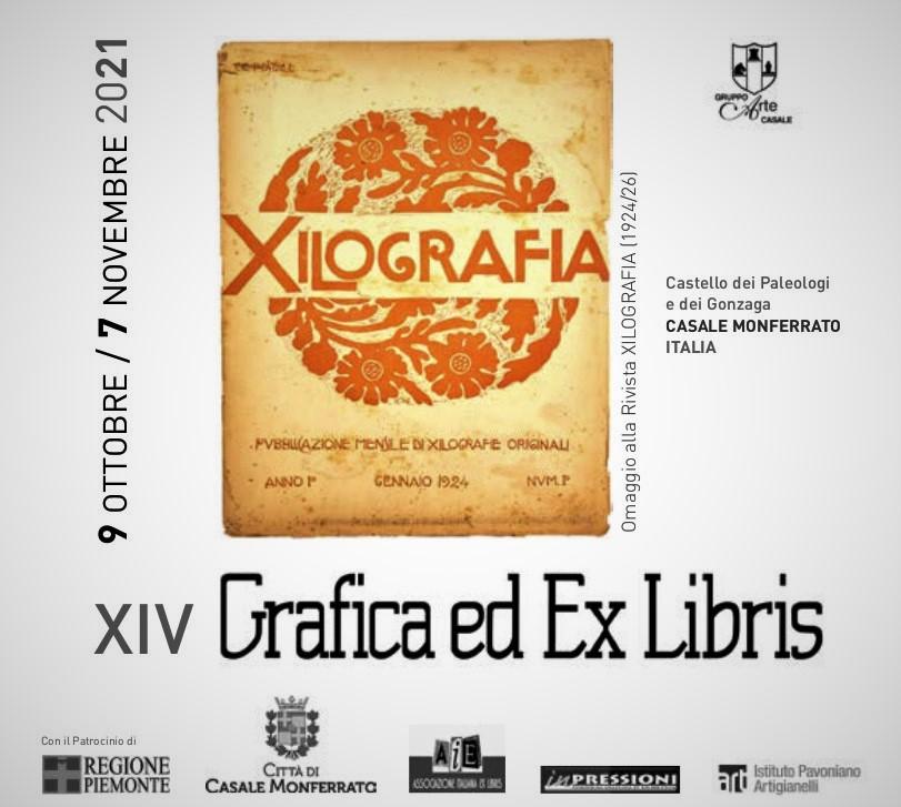 Copertina ExLibris Casale Xilo