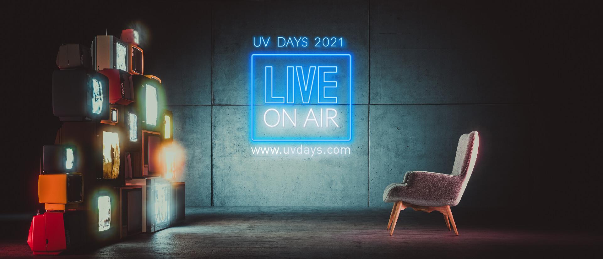"""UV Days 2021 """"on air"""""""