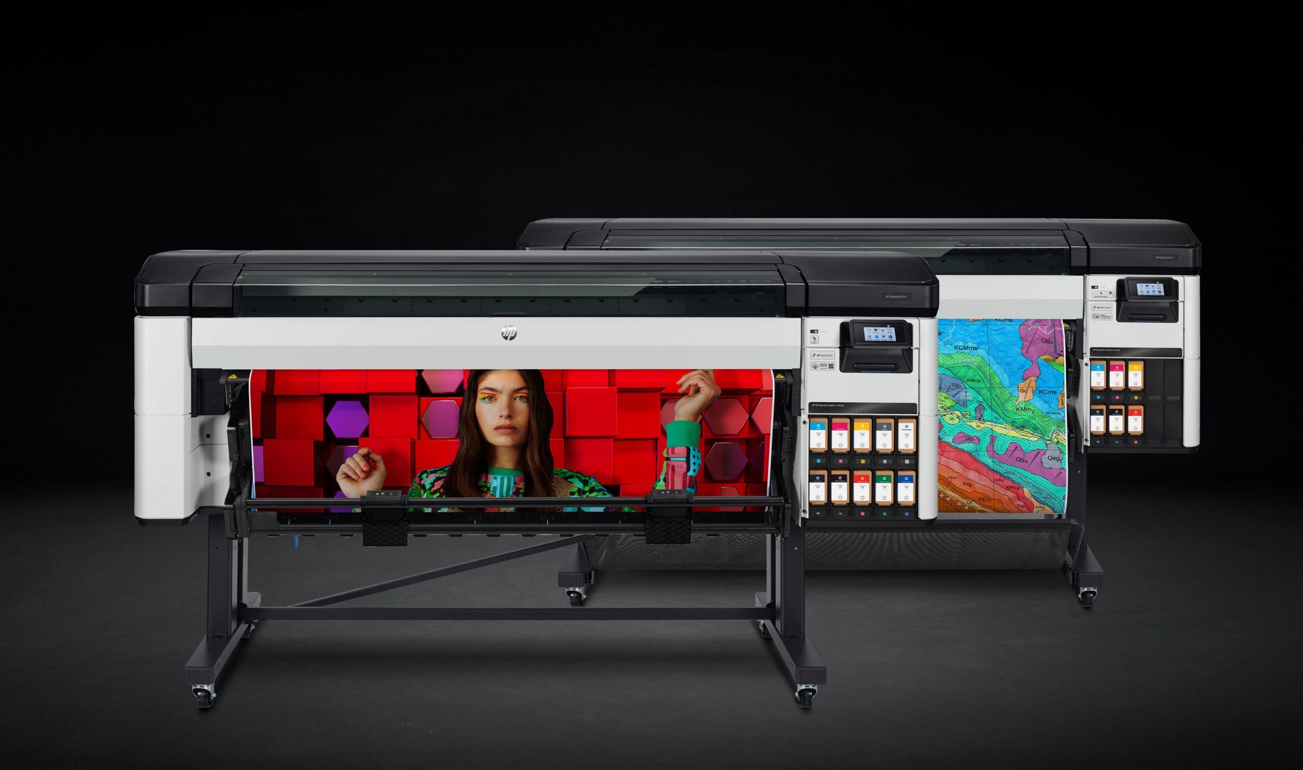 Nuove stampanti largo formato HP