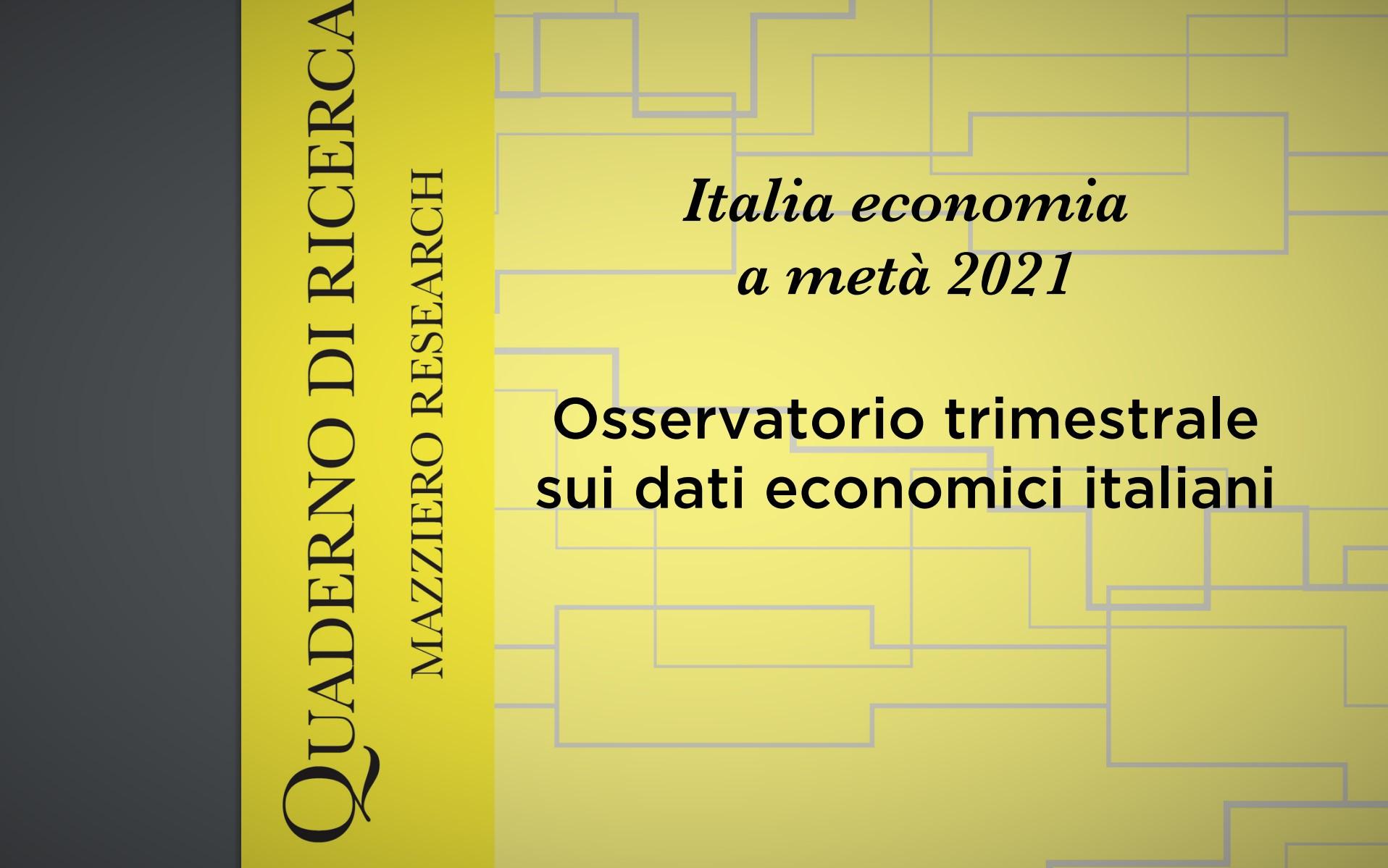 Osservatorio trimestrale sulla congiuntura italiana