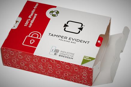 Il packaging Tamper Evident senza etichette in plastica